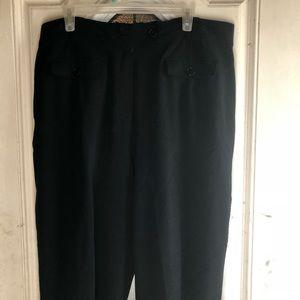 Larry Levine black pants size 18w